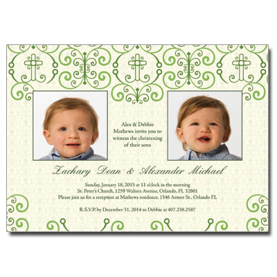 christening photo invitationschristening photo invitations photo
