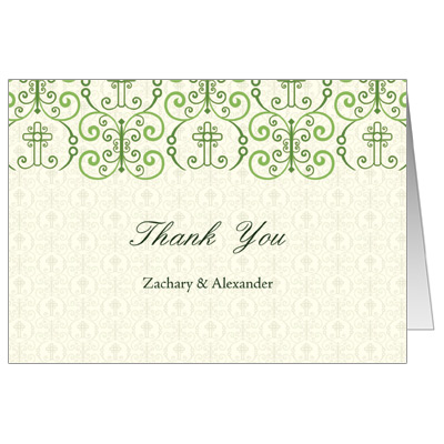 Christening Thank You Note Cardschristening Thank You Cards Thank