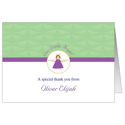 Little Angel Note Card