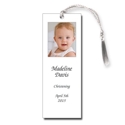 Photo White Bookmark
