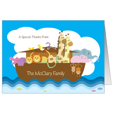 Noah's Ark Note Card