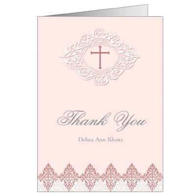 Elegant Rose Note Card