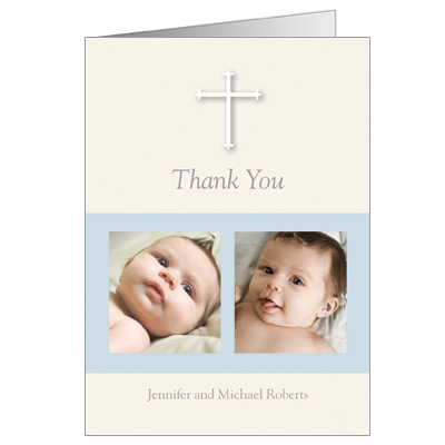 Blessing Blocks Thank You Card