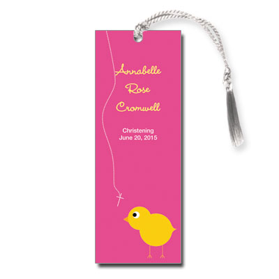 Chick Girl Bookmark