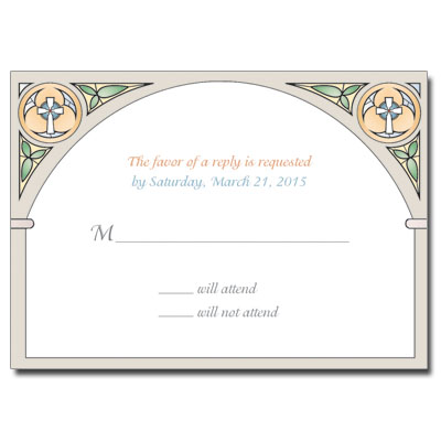 Stained Glass SB Response Card